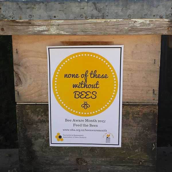 Bee Aware Month 2015