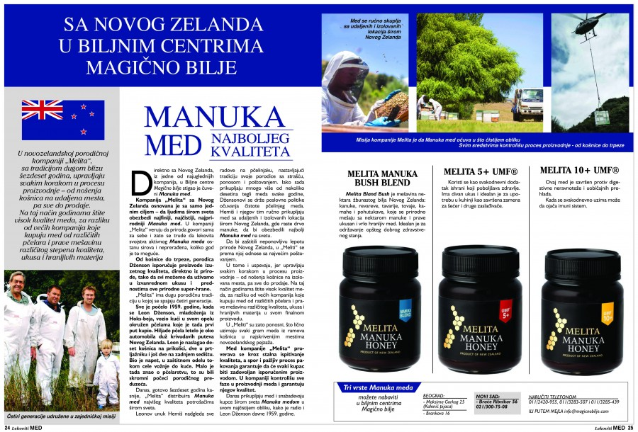 Magicno Bilje Magazine Articles